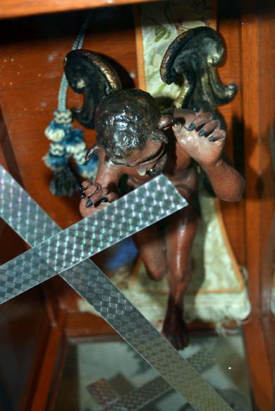 Diablito de la iglesia de San Miguelito